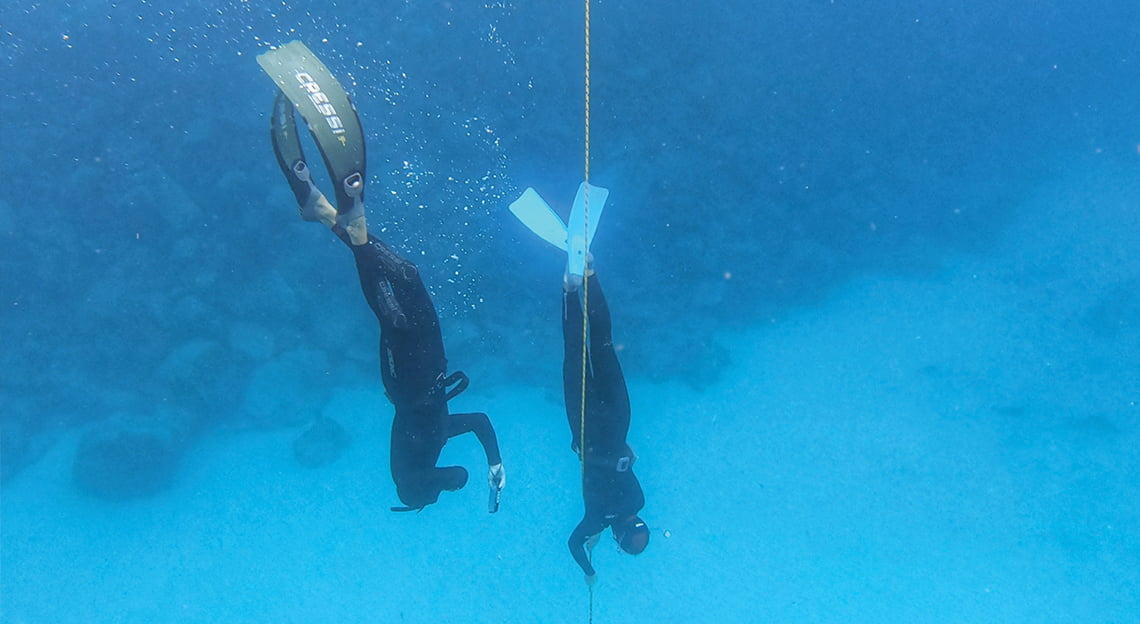 freediving course level 1